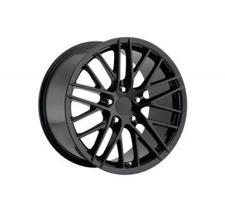 "05-13 ""09 ZR1"" Black Wheel Set (18x8.5""/19x10"")"