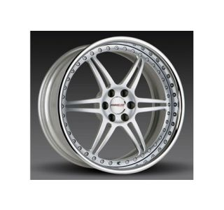 "1997-2004 Corvette Forgeline SS3P 3-Piece Premier Alloy Wheels (18""x9.5""/19""x11"")"
