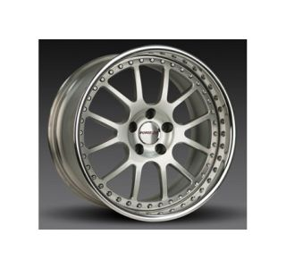 "1997-2004 Corvette Forgeline VR3P 3-Piece Premier Alloy Wheels (18""x9.5""/19""x11"")"