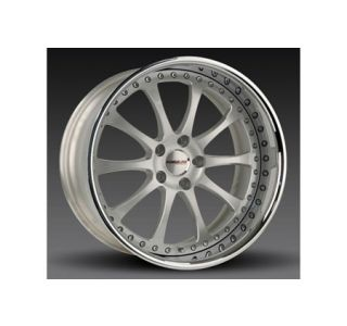 "1997-2004 Corvette Forgeline ZX3P 3-Piece Premier Alloy Wheels (19""x9.5""/20""x11"")"