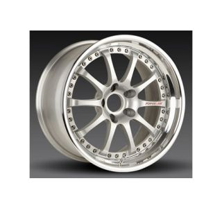 "1997-2004 Corvette Forgeline ZX3R 3-Piece Competition Alloy Wheels (18""x10""/18""x12"")"