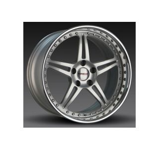"2005-2013 Corvette Forgeline SP3P 3-Piece Premier Alloy Wheels (19""x9.5""/20""x11"")"
