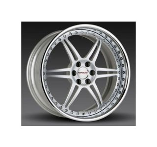 "2005-2013 Corvette Forgeline SS3P 3-Piece Premier Alloy Wheels (19""x9.5""/20""x11"")"