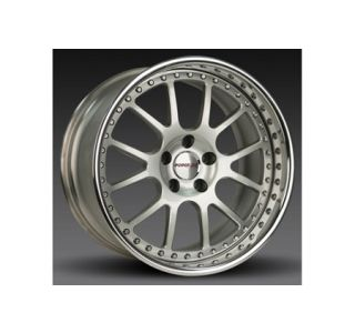 "2005-2013 Corvette Forgeline VR3P 3-Piece Premier Alloy Wheels (19""x9.5""/20""x11"")"
