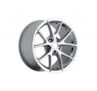 """84-87 C6 Z06 Spyder Chrome Wheel Set (18x9.5"""")"""