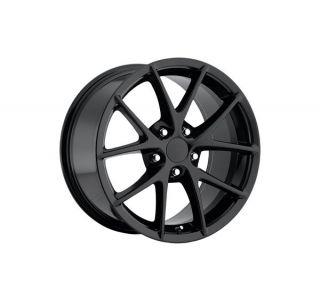 05-13 Z06 Spyder Black Wheel Set