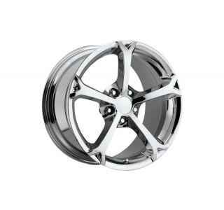 "06-13 2010 Grand Sport Chrome Wheel Set (18x9.5""/19x12"")"