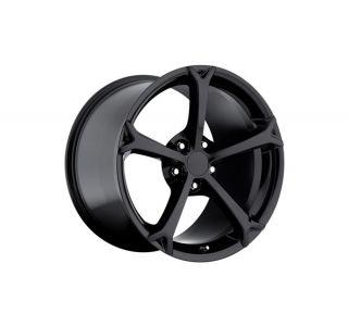 "06-13 2010 Grand Sport Black Wheel Set (18x9.5""/19x12"")"