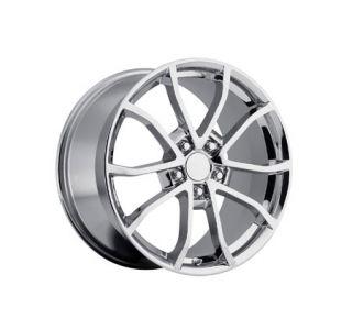 """06-13 60th """"CUP"""" Chrome Wheel Set (18x9.5""""/19x12"""")"""