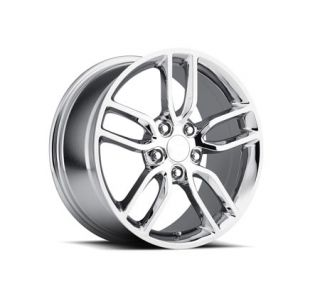 "05-18 ""Z51 Style"" Chrome Wheel Set (18x8.5""/19x10) (Default)"