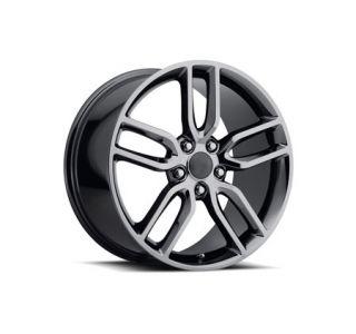 "05-18 ""Z51 Style"" Black Chrome Wheel Set (18x8.5""/19x10"") (Default)"