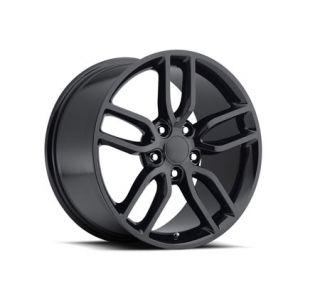 "05-18 ""Z51 Style"" Gloss Black Wheel Set (18x8.5""/19x10"") (Default)"