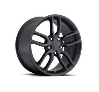 "05-18 ""Z51 Style"" Satin Black Wheel Set (19x8.5""/20x10"") (Default)"