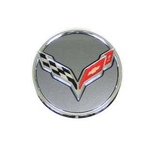 "14-18 ""C7 Emblem"" Argent Wheel Center Cap (Default)"