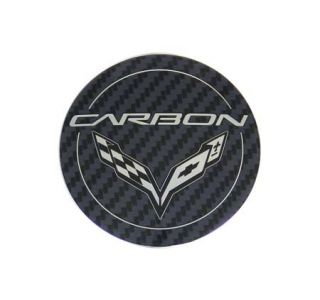 "15-18 ""Carbon"" Wheel Center Cap (Default)"