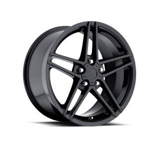 """84-87 C6 Z06 Style Black Wheel Set (18x9.5"""")"""