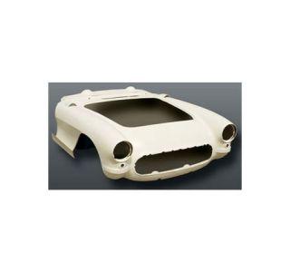 1956-1957 Corvette One-Piece Fiberglass Front End w/Dashboard Assembly (HL)