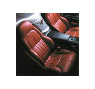 1997-2004 Corvette STD Seat Covers (Leather/Vinyl)