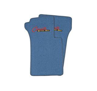 "1963-1967 Corvette ACC Floor Mats w/Embroidered ""Stingray"" Emblem"