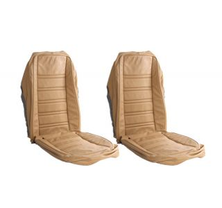 76-78 Seat Covers (Original Style Leather w/Vinyl Skirts)