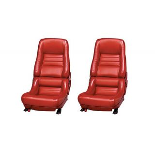 78 Pace & 79-82 Seat Covers (Original Style Leather w/Vinyl Skirts)