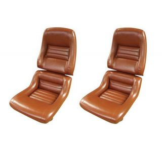78 Pace & 79-82 Mounted Seat Covers & Foam (Leather-Like)