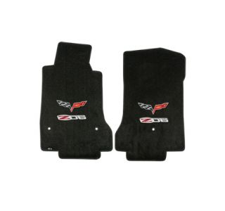 "2007L-2013E Corvette Lloyd Ultimat Floor Mats w/Double ""Z06 505HP"" Emblem"