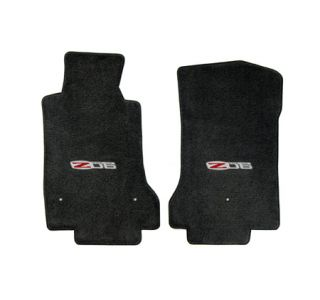 2007L-2013E Corvette Lloyd Velourtex Floor Mats w/Z06 505hp Emblem