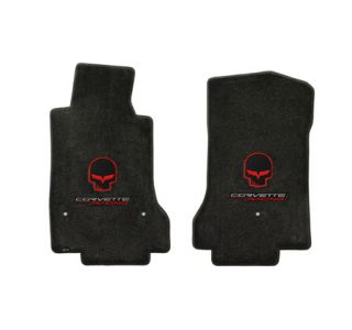 "2007L-2013E Corvette Lloyd Velourtex Floor Mats w/""Jake"" & ""Corvette Racing"""