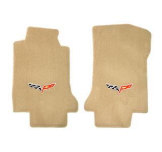 2005-2007E Corvette Lloyd Velourtex Floor Mats w/C6 Emblem