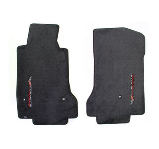 2007L-2013E Corvette Lloyd Ultimat Floor Mats w/Corvette Racing-Side Emblem