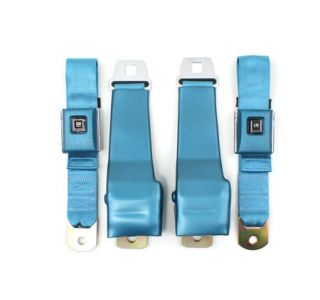 1968 Corvette Replacement Seat Belts w/GM Buckles