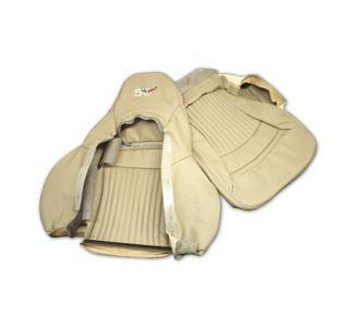 2003 Corvette 50th Shale Sport Leather/Vinyl Seat Covers