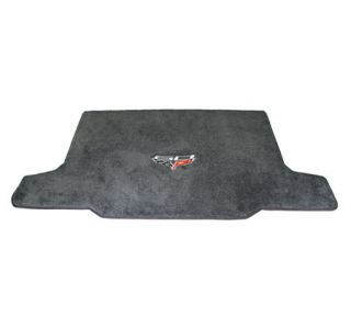 2013 Conv Corvette Lloyd Ultimat Cargo Mat w/60th Logo (60th above flags)