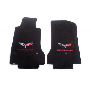 13E Lloyd Ultimat Floor Mats w/60th Logo & Corvette Script