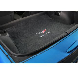 2013 Corvette Conv Lloyd Velourtex Cargo Mat w/60th Logo & Corvette Script