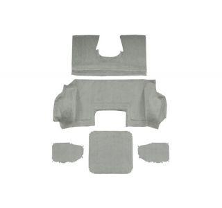 98-00 Conv Rear Carpet Set (Cut-Pile w/Mass) (InteriorColor)