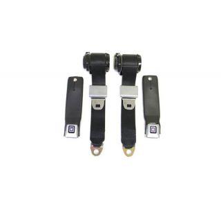 78-82 Seat Belt Set w/Shoulder Harness & Seat Belt Warning (Reproduction)