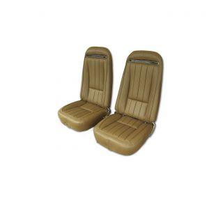 70-71 Complete Pre-Assembled 100% Leather Seats w/Frames (w/o Shoulder Harness Option)