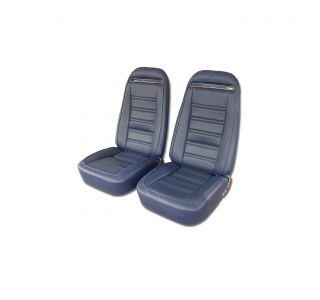 72-74 Complete Pre-Assembled 100% Leather Seats w/Frames (w/ Shoulder Harness Option)