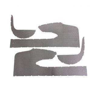 58 Door Panel & Kick Panel Sheet Metal Trim