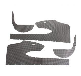 59 Door Panel & Kick Panel Sheet Metal Trim