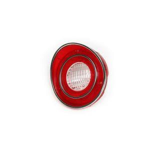 1971L-1973 Corvette Tail Light Lens w/Back-Up Center