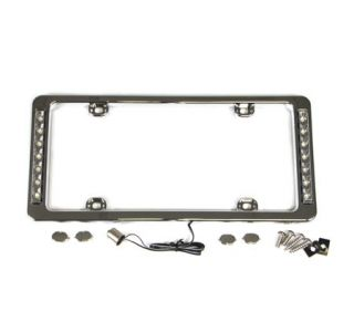 License Plate Frame w/LED Back-Up Lights
