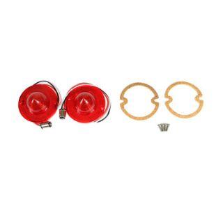 56-57 LED Tail Lamp Lens & Gasket Set (Default)