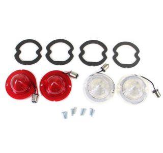 63-66 LED Tail Lamp & Back-Up Lens & Gasket Set