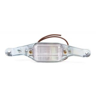68-71 License Light Assembly