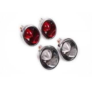 63-66 LED Tail Light Set w/ Back-Ups