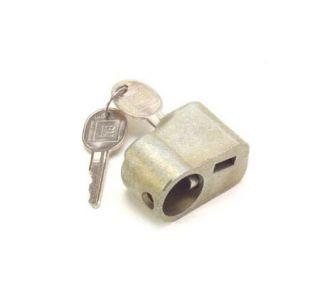 "1969-1982 Corvette Spare Tire Lock w/GM ""B"" Oval Keys"