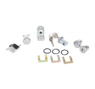 74-77E Alarm, Door, Rear Storage & Spare Tire Lock (Keyed Alike)